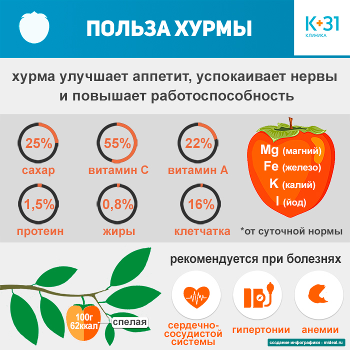 infographic benefits of persimmon